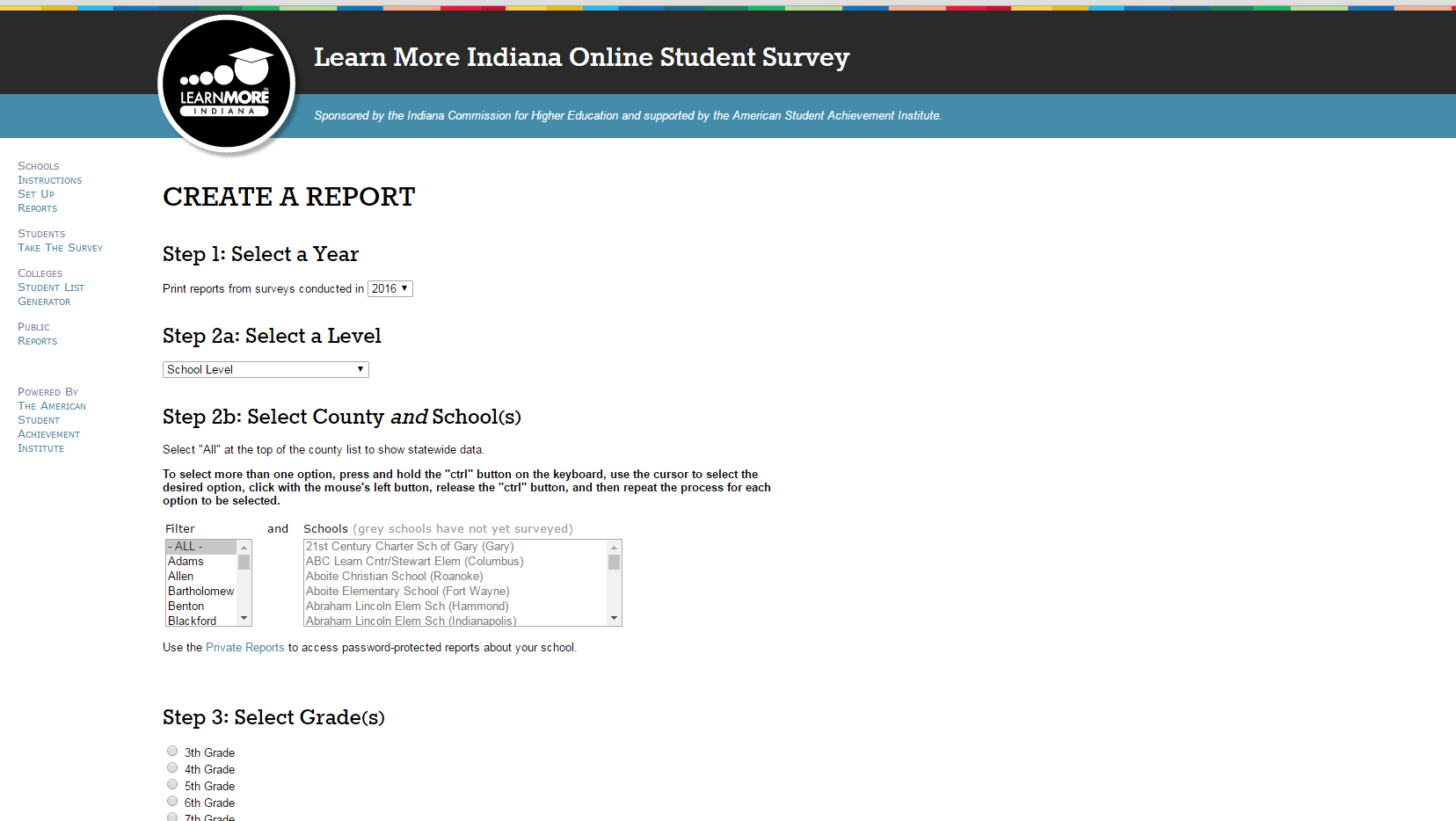 Learn More Indiana Online Survey